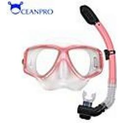 OceanPro Erwachsenen Minos Maske trocken Schnorchel-Set