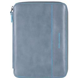 Piquadro Blue Square iPad mini Hülle Leder 22,5 cm grey