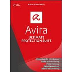 Avira Ultimate Protection Suite 2016 1 Jahr