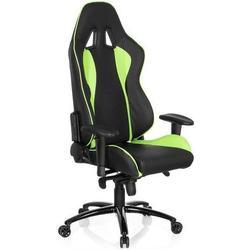 * Gaming Stuhl / Bürostuhl WINGMAN I Kunstleder schwarz / grün