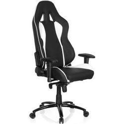* Gaming Stuhl / Bürostuhl WINGMAN I Kunstleder schwarz / weiß