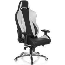 * Gaming Stuhl / Bürostuhl WINGMAN II Kunstleder schwarz / silber