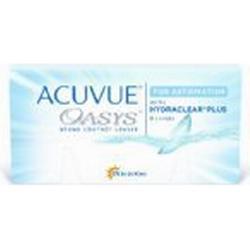 Acuvue Oasys for Astigmatism 2/Wochenlinsen weich, 6 Stück / BC 8.6 mm / DIA 14.5 / CYL /0.75 / Achse 90 / 4.5 Dioptrien