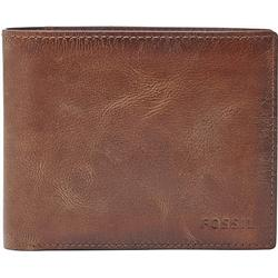 Fossil Geldbörse DERRICK LARGE COIN POCKET aus Leder
