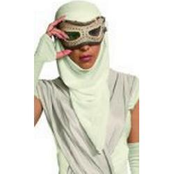 Rubie 's Offizielle Star Wars Rey Eye Maske mit Kapuze für Erwachsene