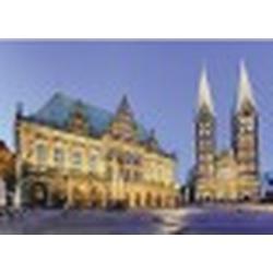 Bremen: Blick aufs Rathaus