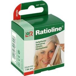 RATIOLINE acute Heftpflaster 2,5 cmx5 m 1 St