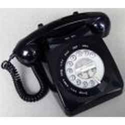 Seniorentelefon im Retrodesign Geemarc Mayfair Schwarz