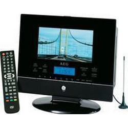 7 17,5 cm LCD-TV DVD-Player DVB-T Clatronic CTV 4889
