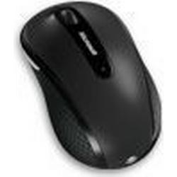 Microsoft Funk-Maus Optisch Wireless Mobile Mouse 4000 Schwarz