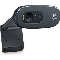 Logitech HD WEBCAM C270 3MP 1280 x 720pixel USB 2.0 Sort