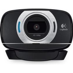 Logitech C615 Full HD-Webcam 1920 x 1080 Pixel Standfuß, Klemm-Halterung