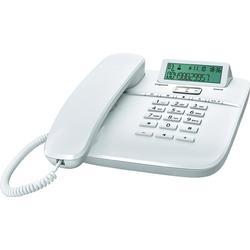 DA610 schnurgebundenes Telefon CLIP-Funktion Freisprechen (Weiß)
