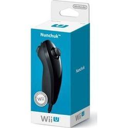 Wii Nunchuk Controller für Wii und Wii U Schwarz (Schwarz)