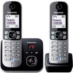 Panasonic KX-TG6822GS Duo Schnurlostelefon mit AB