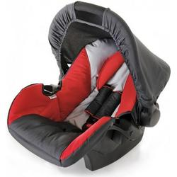 Hauck - Babyschale Zero Plus Select, Rot/Schwarz