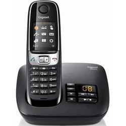 Gigaset C620A Telefon, Schnurlostelefon / Mobilteil, Farbdisplay, Dect/Telefon, Anrufbeantworter, Freisprechen, Analog Telefon, weiß