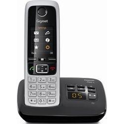 Gigaset C430A mit AB schwarz schnurlos Telefon schwarz