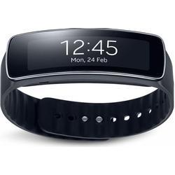 Samsung Gear Fit 2 Smartwatch mit Pulssensor und Benachrichtigungen / Blau (S)