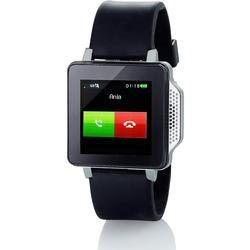 simvalley PW/315.touch Mobile Handy/Uhr (Handy/Uhr/Mediaplayer) schwarz