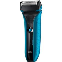 Braun WaterFlex WF2s blau + Gillette Sensitive Gel