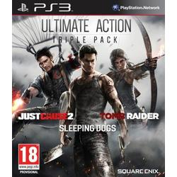 Ultimate Action Triple Pack / Tomb Raider, Just Cause 2, Sleeping Dogs
