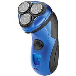AEG HR 5655 Herrenrassierer Haarschneider 3-fach Schersystem, Akkubetrieb, wasserstrahlbeständig bla