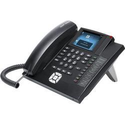 Auerswald Systemtelefon,VoIP COMfortel 1400IP Freisprechen, Headsetanschluss Touch-Farbdisplay Schw