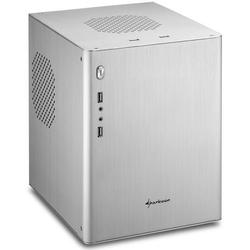 Sharkoon CA/M Mini/Tower Aluminium PC/Gehäuse / Cube (Micro/ATX, 2x USB 3.0, 2x USB 2.0) schwar