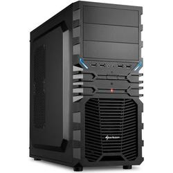 Sharkoon Midi-Tower PC-Gehäuse VG4-S Schwarz