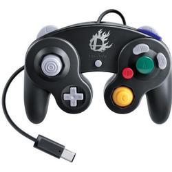 Nintendo Wii U GameCube Controller Super Smash Bros. Edition Schwarz