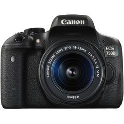 Canon Eos 750D Digital Slr Camera 2,062 Kg