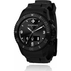 MYKRONOZ ZeClock Smartwatch (Bluetooth 4.0, USB 2.0) blau