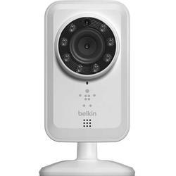 Belkin NetCam HD-WLAN-Kamera mit Nachtsicht, für Smartphones/Tablets, WLAN
