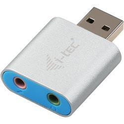 USB 2.0 Metal Mini Audio Adapter