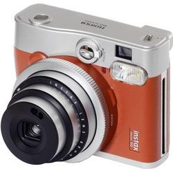 Fujifilm Sofortbildkamera Instax Mini 90 Neo Classic Schwarz/Silber