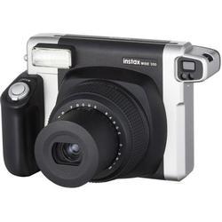 Instax Wide 300 Sofortbild-Kamera Bildformat 62x99mm (Schwarz, Silber)