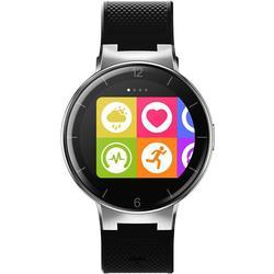 Alcatel Onetouch Watch mit langem Armband schwarz/rot