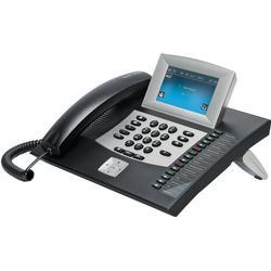 Auerswald Systemtelefon,VoIP COMFORTEL 2600 IP schwarz Android, Anrufbeantworter, Freisprechen, Opt
