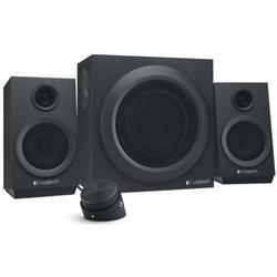 Logitech 2.1 PC-Lautsprecher Kabelgebunden Z333 40 W Schwarz
