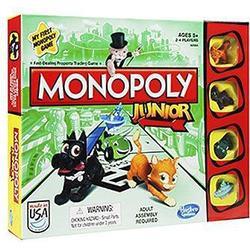 Hasbro A6984100 - Monopoly Junior, Edition 2014