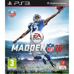 Madden NFL 16 (SONY® PS3)