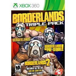 Borderlands: Triple Pack / [Xbox 360]
