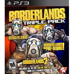 Borderlands: Triple Pack [AT Pegi] / [PlayStation 3]