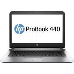 HP ProBook 440 G3 Intel Core i5-6200U 35,5cm 14Zoll HD AG UMA 1x4GB 500GB/HDD WLAN BT W7PRO64+W10PRO