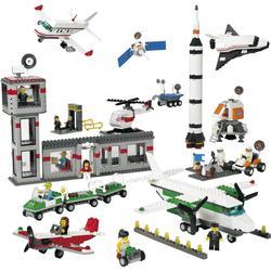 Raumfahrt und Lufthafen - Lego Education 9335