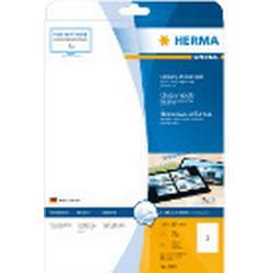 Herma 4909 Etiketten glänzend 210x297 mm A4 25 St.