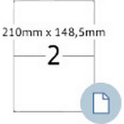 Herma 8402 Blattetiketten 210x148.5 mm A4 509 St.