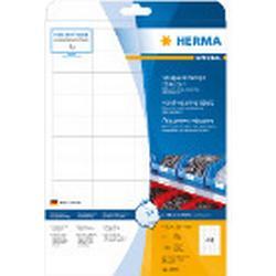 Herma 4690 Etiketten strapazierfähig 48.3x25.4 mm A4 1100 St.
