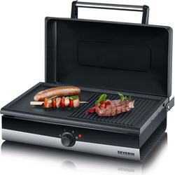Severin Barbecue-Grill Smart-Line PG 2368 sw/eds-geb